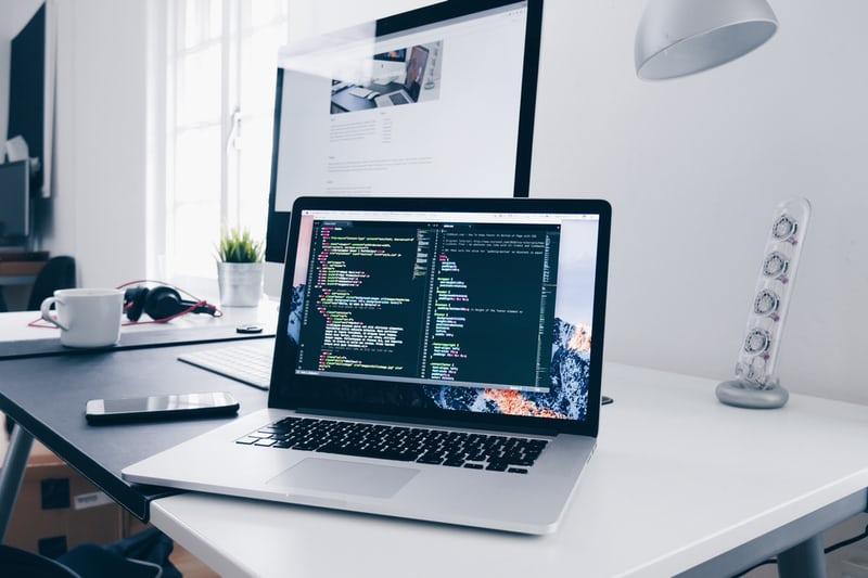 Webentwicklung Laptop Programmieren